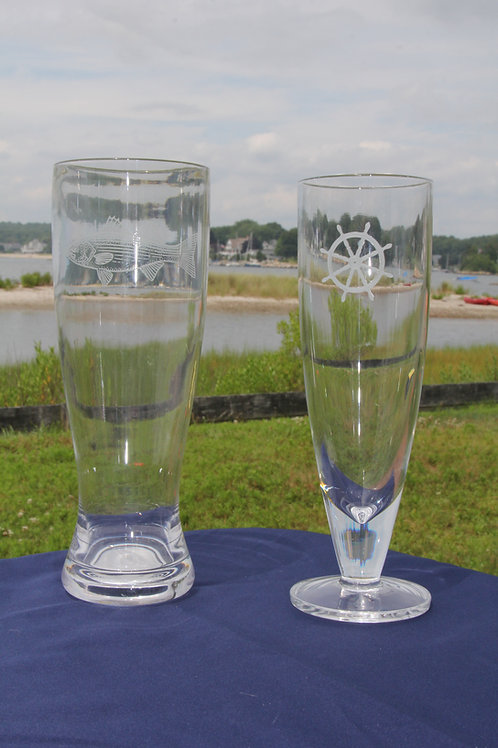 Acrylic beer glasses