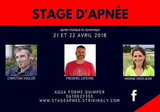 Stage apnée 21-22 Avril