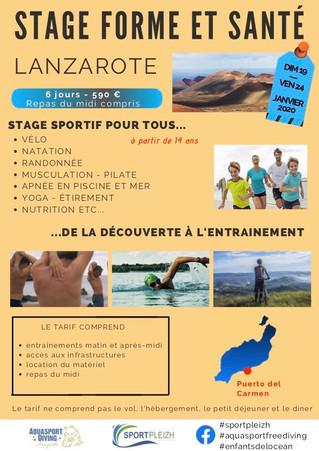 Forme - Apnée Lanzarote 2020