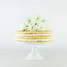 Banana Cream Pie Cake