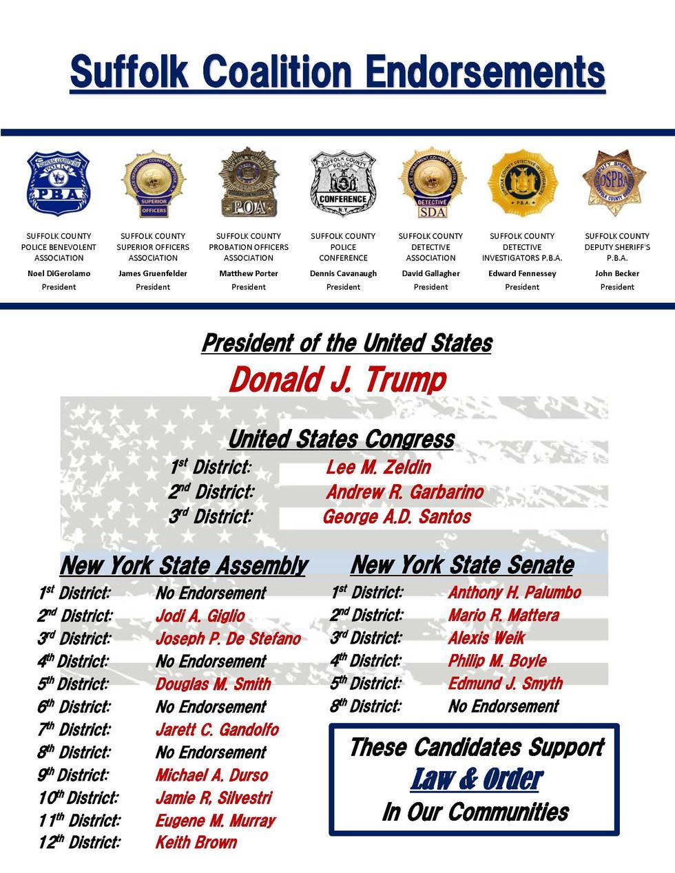 SUFFOLK COALITION w Deputy Sheriff Endor