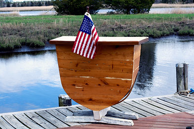 Handcrafted boat bar rental