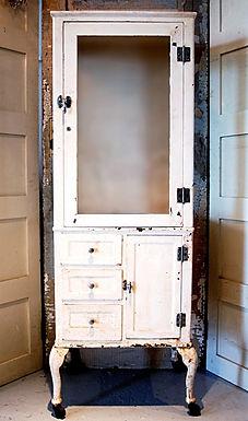 Antique dental cabinet wedding rental