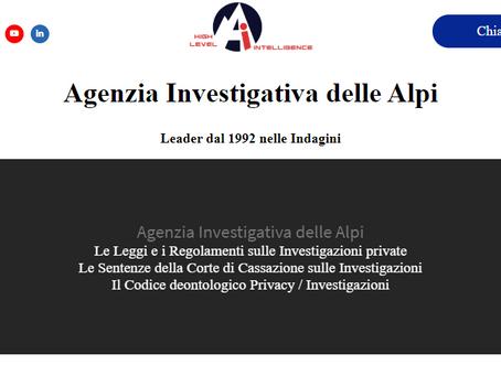 tuttoindagini.it - Lo staff di Agenzia delle Alpi lancia il sito sulle sentenze Investigative