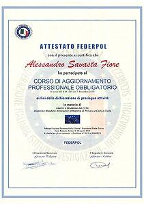 l' investigatore privato alessandro savasta fiore ha frequentato tutti i corsi di aggiornamento federpol e dirige l' agenzia investigativa delle alpi da oltre 30 anni a torino e in italia