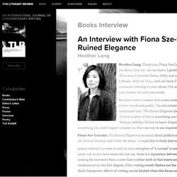 Fiona Sze-Lorrain