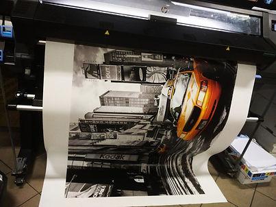 druk lateksowy