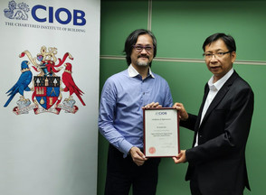 CIOB (HK) Webinar - Digital Platform for Digital Works Supervision System