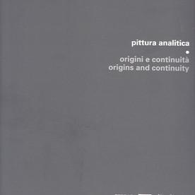 Pittura analitica. Origini e continuità