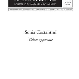 Sonia Costantini. Colore apparente