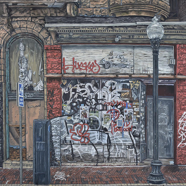 Baltimore Ruins XIII, A War of Words