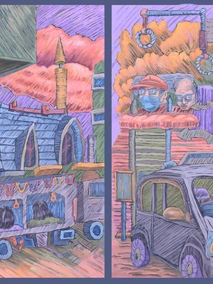 Nagasaki Sketchbook V
