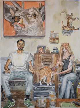 Jac, David, and the Mysterious Cat, Absalom