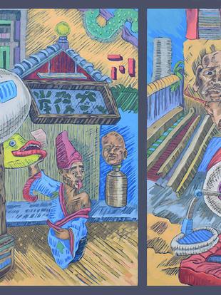 8. Nagasaki Sketchbook VIII_The Chinese