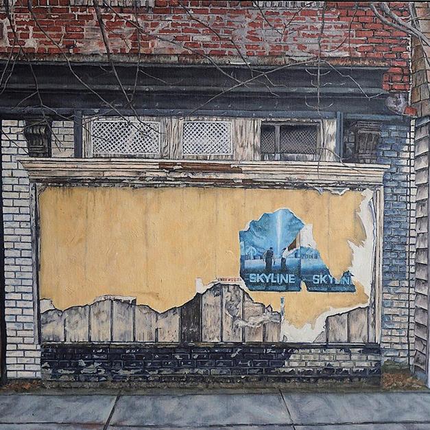 Baltimore Ruins VI (Skyline)