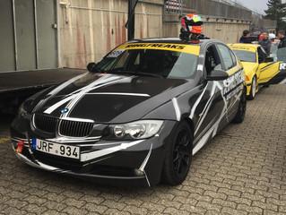 Alf Marius Loe Sandberg gjestet Nürburgring