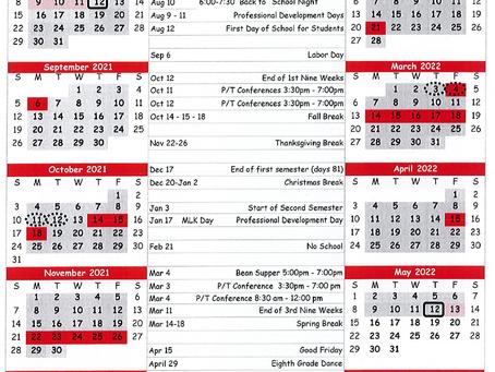 Whitebead Releases 2021-2022 Calendar