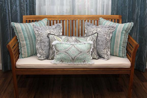 Beachglass Throw Pillow Cover Collection