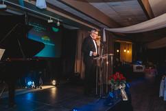 Mayor Ken Christian welcoming everyone to the gala.