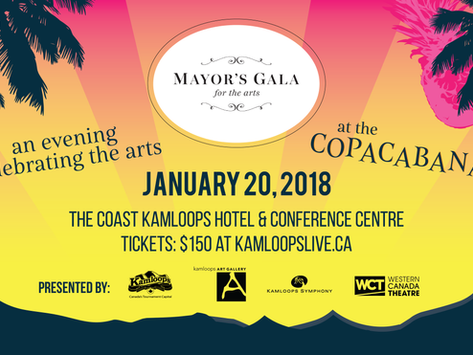 2018 Mayor's Gala for the Arts Will Transport You to the Copacabana