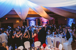 Guests dancing following the conclusion of the gala.