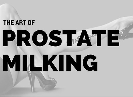 The Art of Prostate Milking