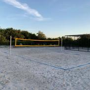 volleyball og strandfodbold jumpalot