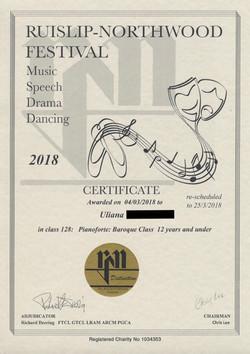 Ruislip-Northwood Festival  2018