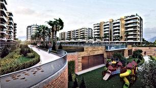 شقق للبيع باطلالة بانورامية على كامل مدينة أنطاليا