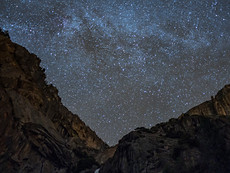 Milky Way & Lower Fall