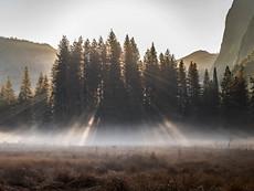 Sun Streak Panorama