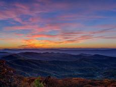 Sunset, Big Meadows