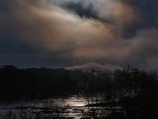 Blue Moonset