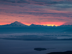 Mt. Baker from Blue Mountain