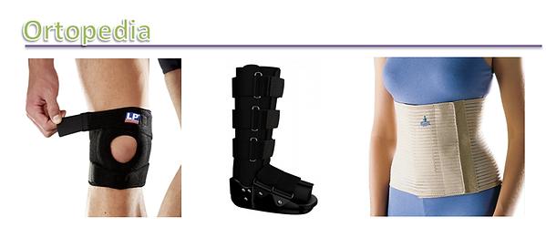 botas ortopédicas, cintas, joelheiras, tornozeleiras