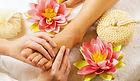 Reflexo, pés relaxados, pontos vitais, planta dos pés