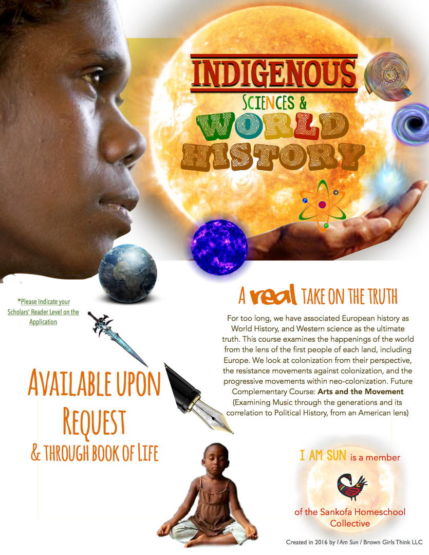 Indigenous Sciences & World History