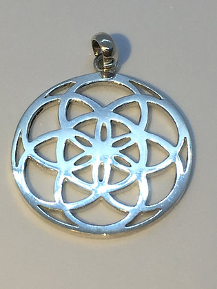 Sterling Silver seed of life