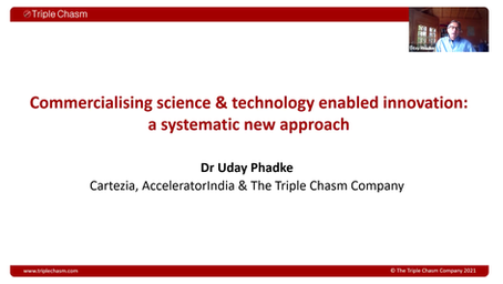 Commercialising science and technology enabled Innovation: a systematic new approach