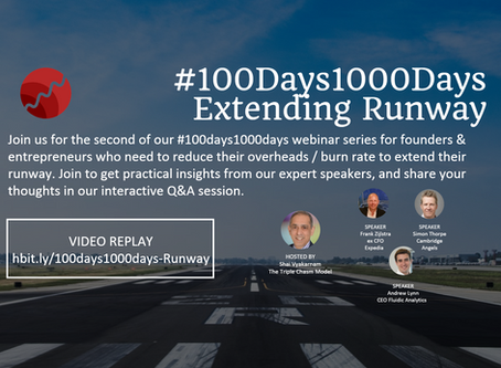 #100Days1000Days – Extending the runaway Webinar Recording