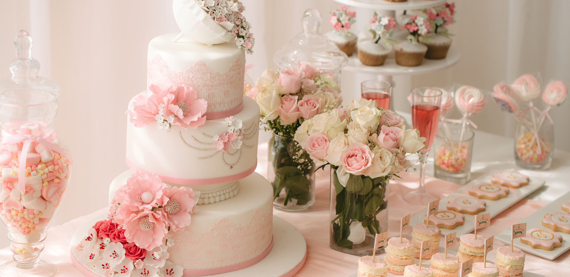 婚禮甜品台