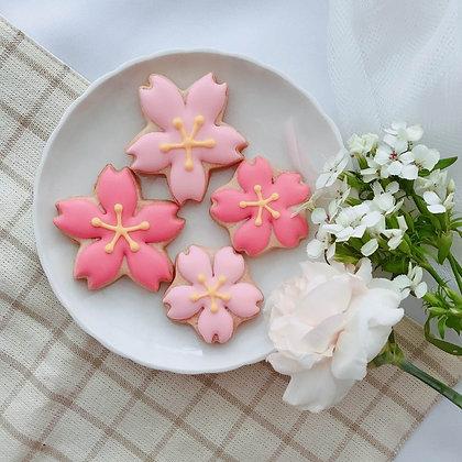 櫻花盛開 - 糖霜餅乾