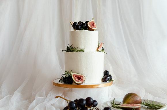 簡約的美好-無花果蛋糕