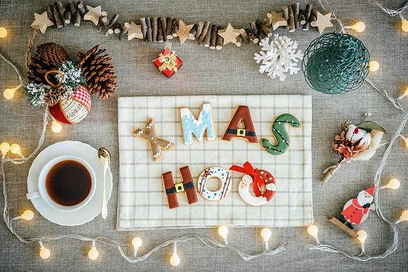 聖誕節 - XMAS造型糖霜餅乾