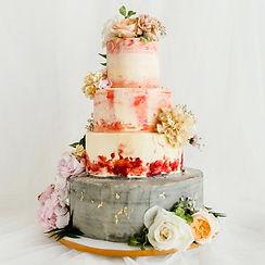定情花海-多層客製婚禮蛋糕