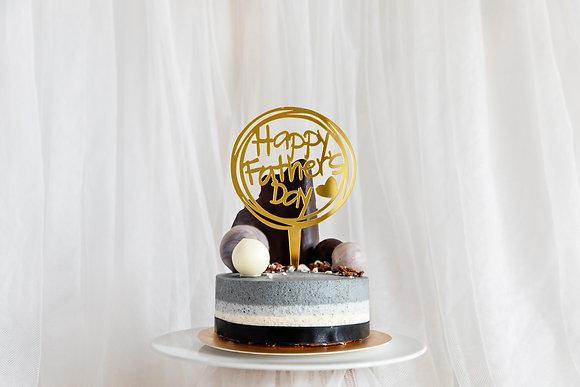 親愛芝心-芝麻慕斯蛋糕