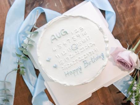 日期生日蛋糕 - 把特別的日子圈在心上
