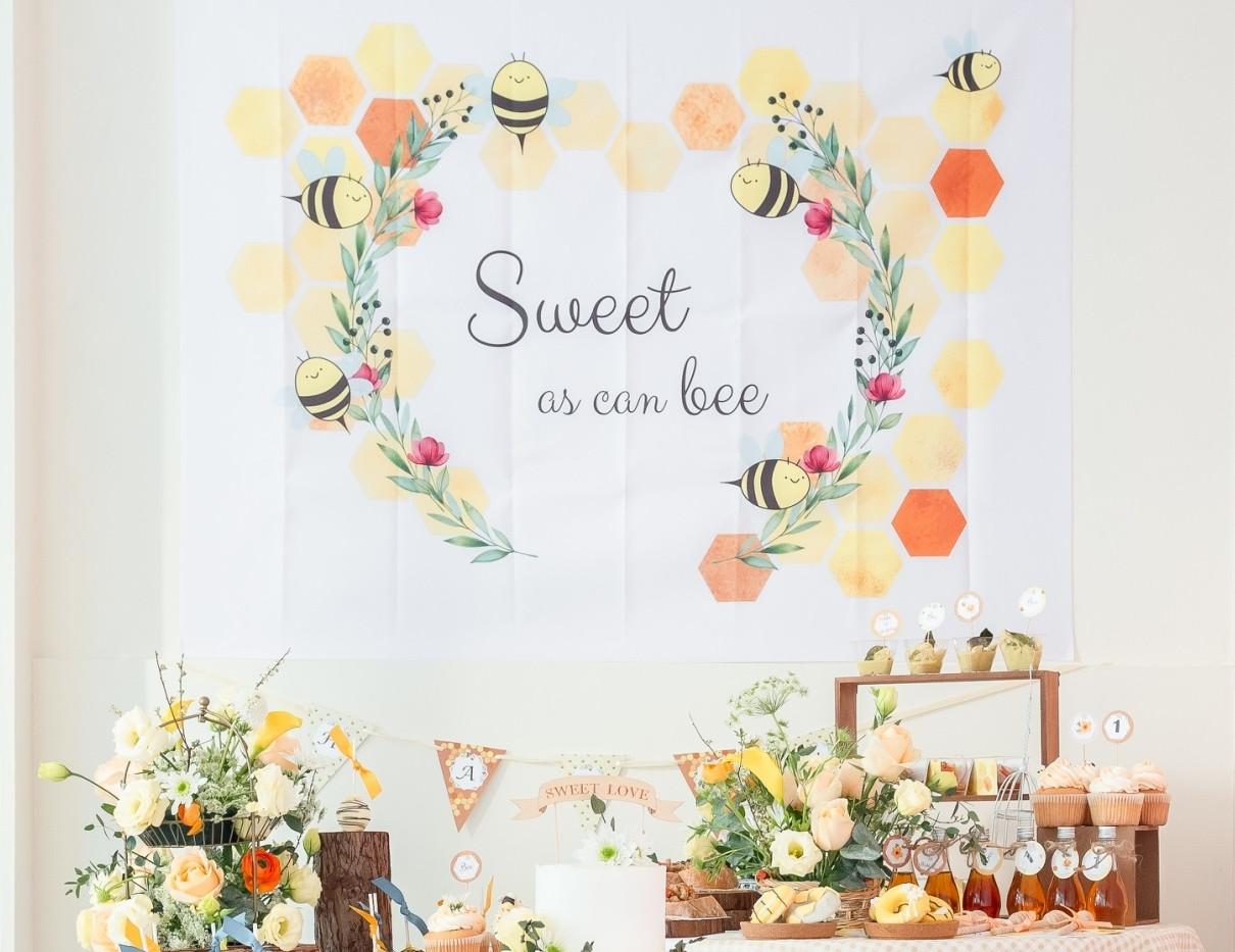 嗡嗡小蜜蜂_DIY生日派對包
