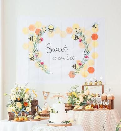 嗡嗡小蜜蜂 - DIY生日派對包