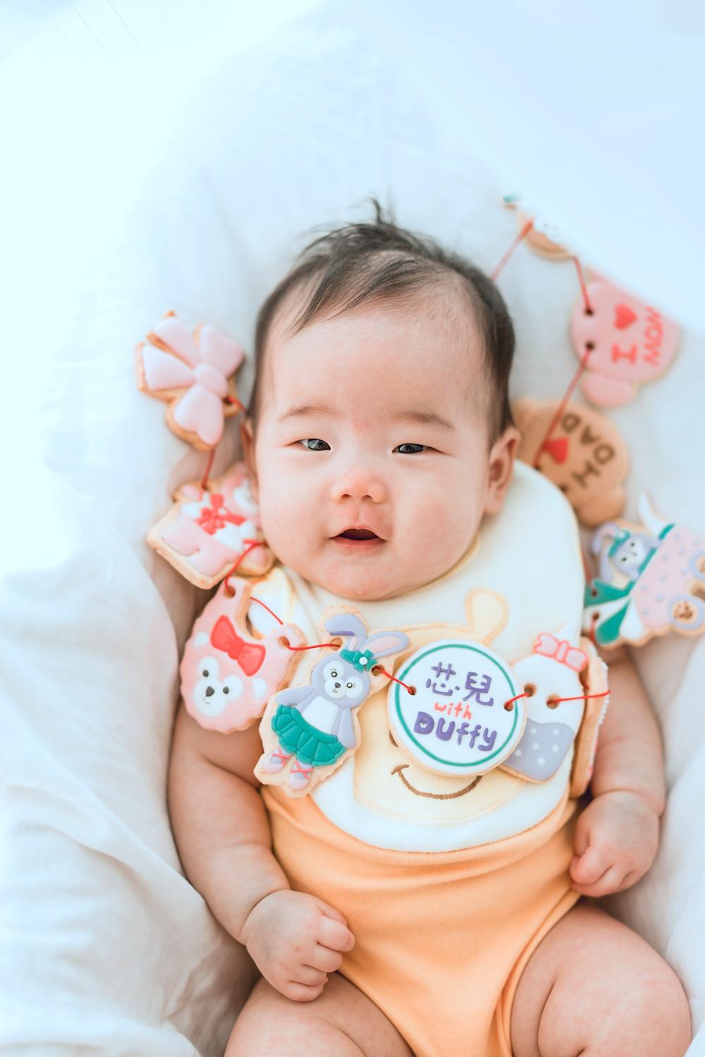 #寶寶收涎 #收涎糖霜餅乾